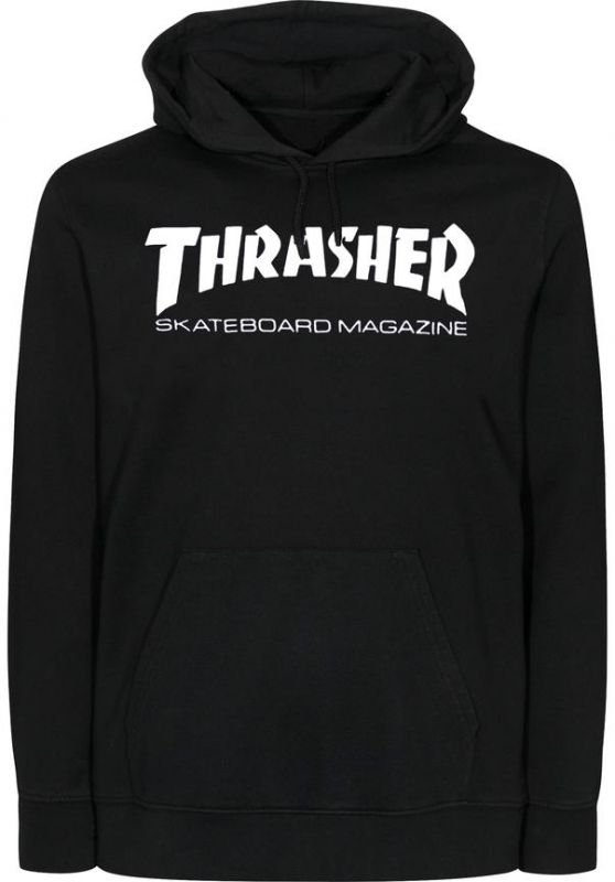 THRASHER Skatemag Hooded Sweatshirt Black