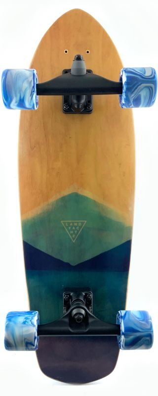 "LANDYACHTZ Pocket Knife Watercolor 31"" - Surfskate Komplett"