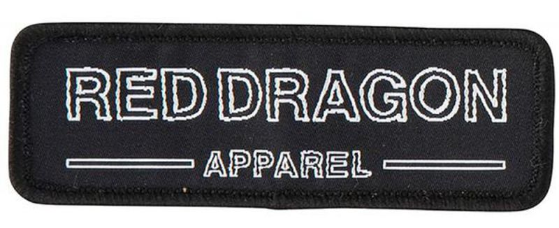 RED DRAGON Freehand Patch - Aufnäher