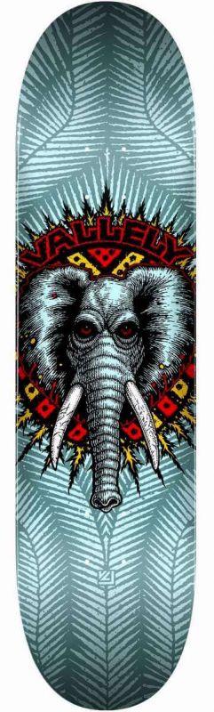 "POWELL PERALTA Vallely Elephant Birch Blue 8"" - Skateboard Deck"