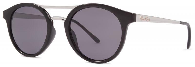 CRUSHEYES Hush Hush - Black/Smoke - Sonnenbrille