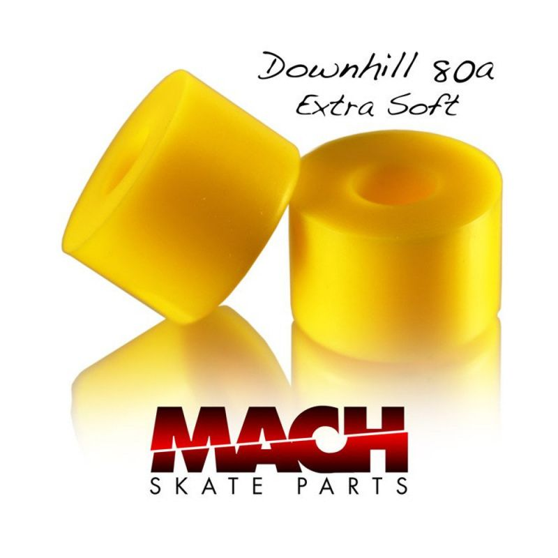 MACH Downhill Bushings 80a Extra Soft Yellow - Lenkgummis