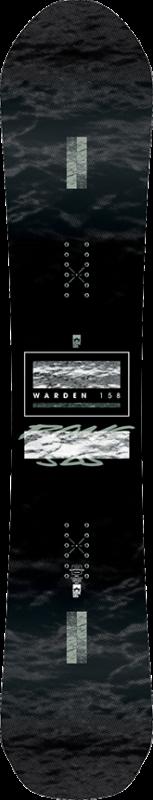 ROME Warden 158 Snowboard 2020