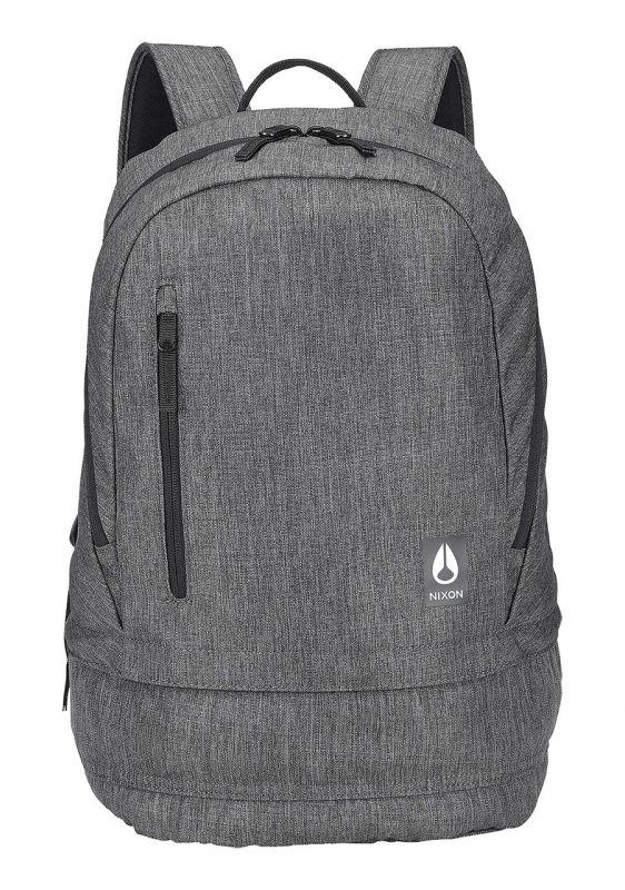 NIXON Traps Backpack Charcoal Heather Rucksack