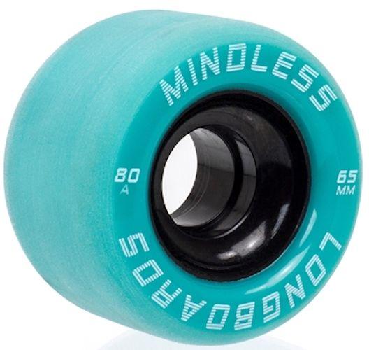 MINDLESS Viper Wheels Teal 65mm 82a - Longboardrollen