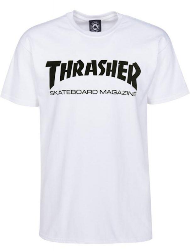THRASHER Skatemag T-Shirt White