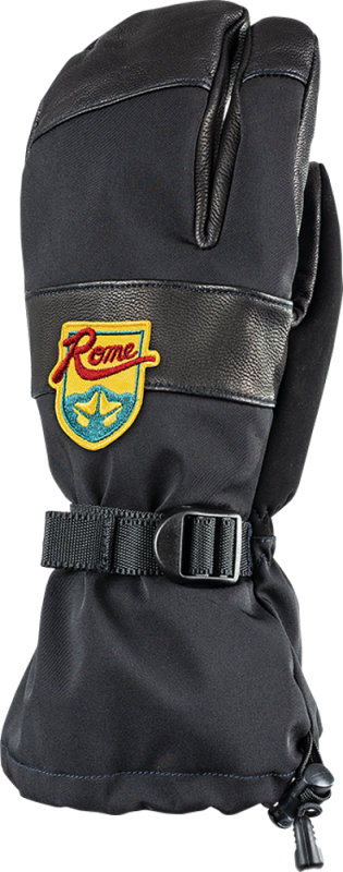 ROME Bronson Overtrigger Black M - Fausthandschuh