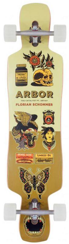 "ARBOR Schommer Catalyst 41"" - Longboard Komplett"