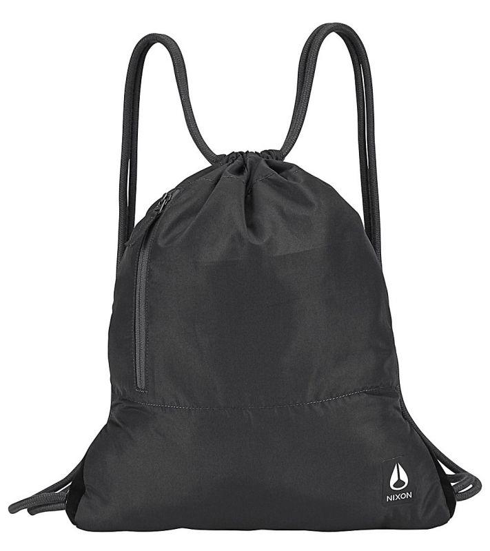NIXON Everyday Cinch Gym Bag Turnbeutel Black