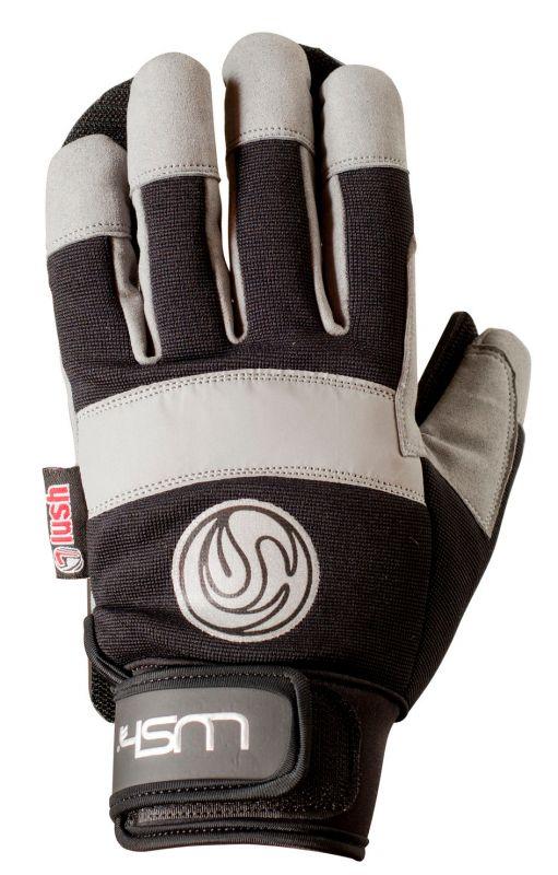LUSH Freeride Slide Gloves - Black - S