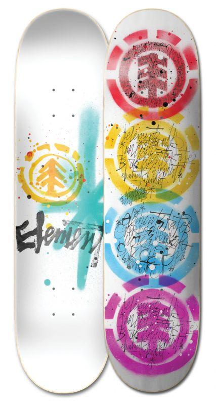 "ELEMENT Scribs Quad 8"" - Skateboard Deck"