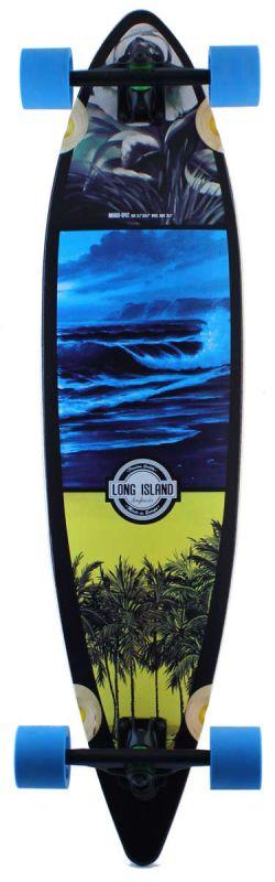 LONG ISLAND Spot Pintail Longboard Komplett