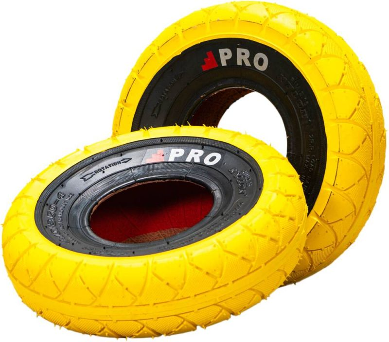 ROCKER Street Pro Mini BMX Reifen Yellow/Blackwall