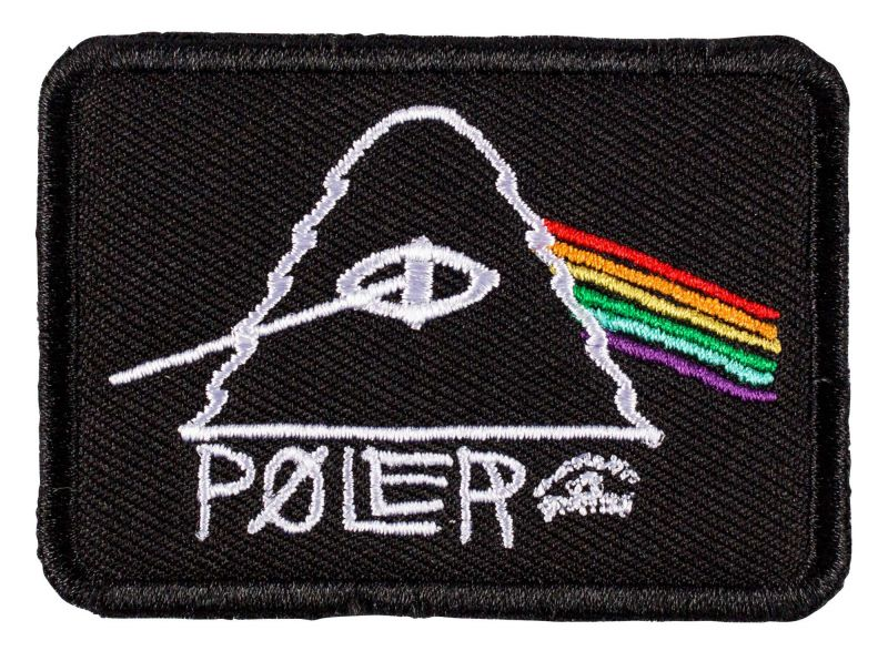 POLER STUFF Psychedelic Iron-On Patch | Aufnäher