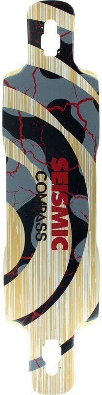 "SEISMIC Compass 39"" - Longboard Deck"