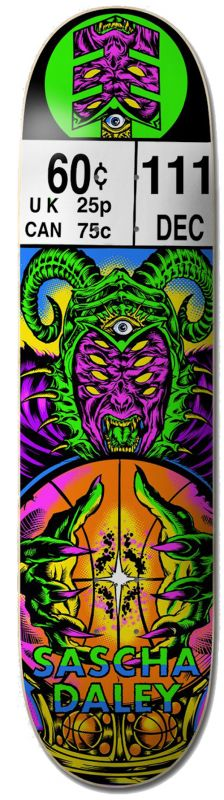 "ELEMENT Amun Ra Sascha 8.25"" - Skateboard Deck"