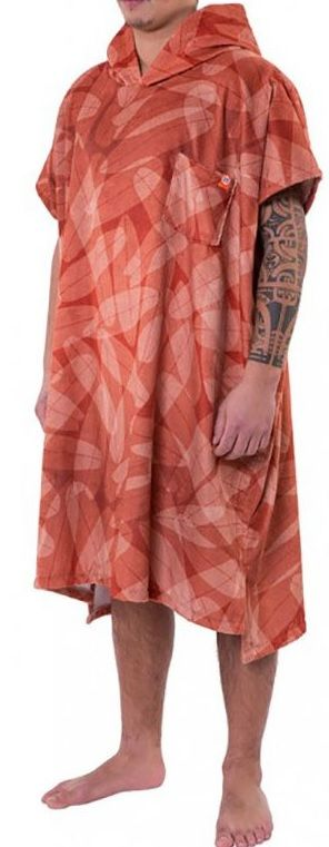 AFTER Poncho Towel Quiver Wood - Surf Poncho