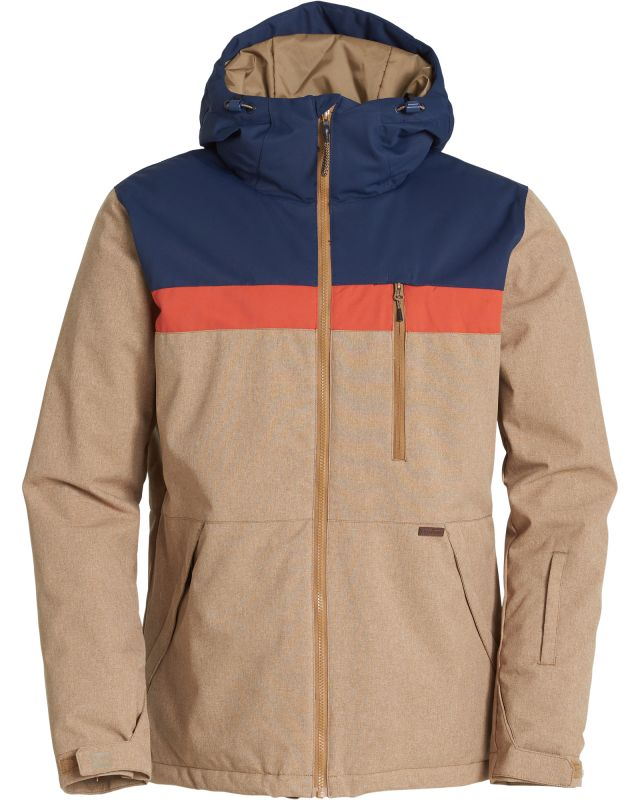 BILLABONG All Day - Ermine Heather - XL - Snowboard Jacke