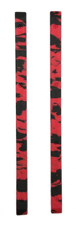 CRAB GRAB Skate Rails Red Black Swirl - Anti-Rutsch-Pad / Stomp Pad