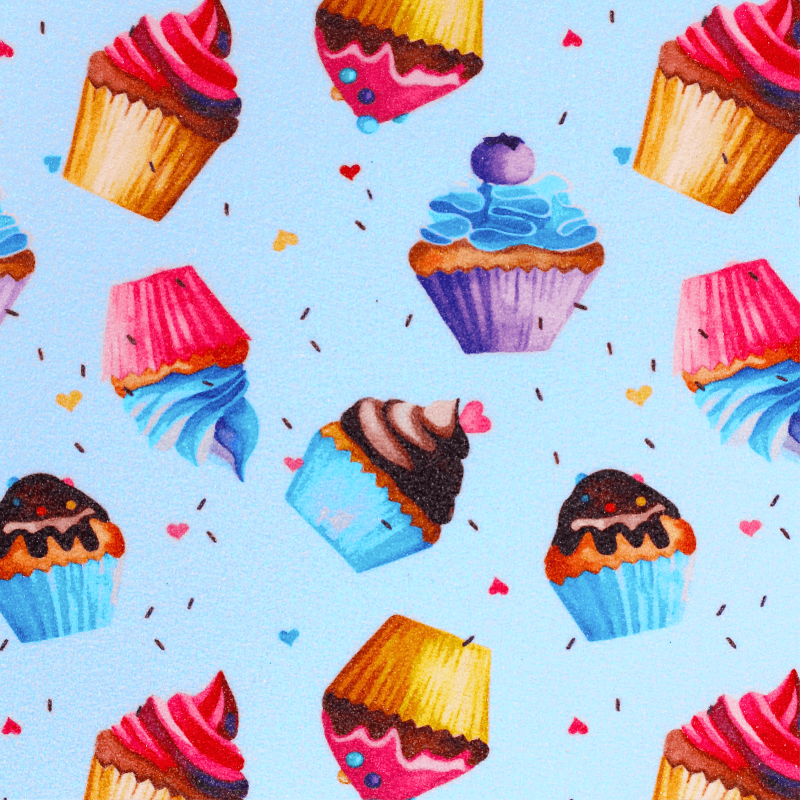 "BTFL Cupcakes - Longboard Griptape 9"" x 105cm"