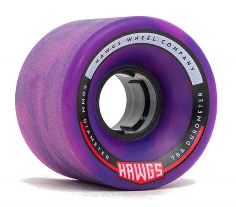 HAWGS Chubby Hawgs 78a 60mm Pink/Purple Swirl