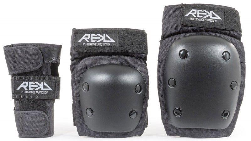 REKD Heavy Duty Triple Pad Set Black - Schonerset
