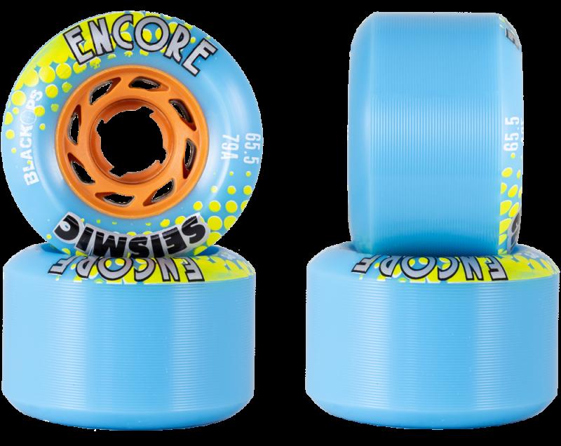 SEISMIC Encore 65,5mm 79a BlackOps / Blue