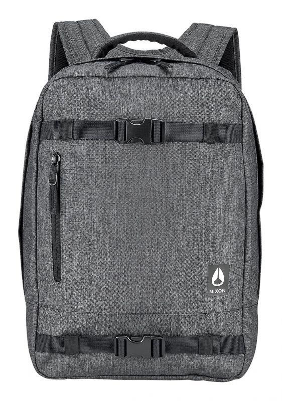 NIXON Del Mar Backpack II Charcoal Heather | Rucksack