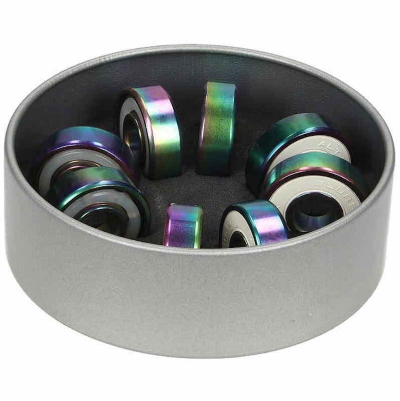 BLURS Bearings Abec 9 Titanium Colorful - Skateboard Kugellager