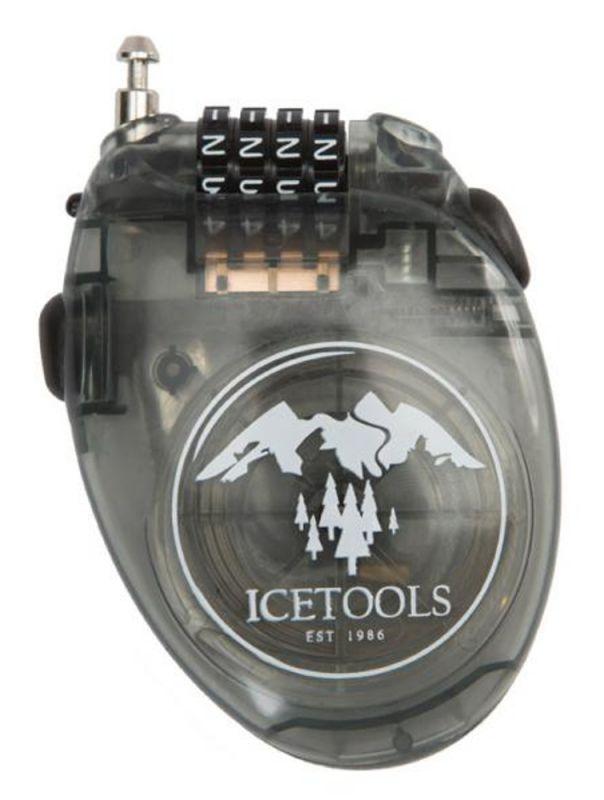 ICETOOLS Mr. Lock Clear Black Snowboardschloss