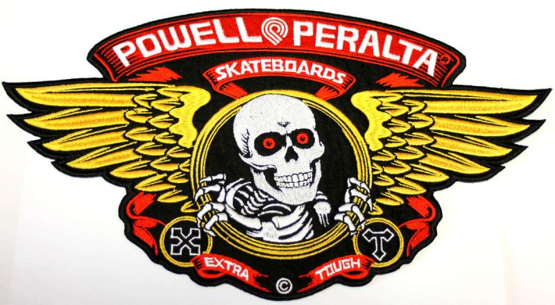 POWELL PERALTA Winged Ripper Large Patch 30x17cm