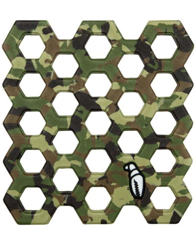 CRAB GRAB Crap Trap Camo Swirl - Anti-Rutsch-Pad / Stomp Pad