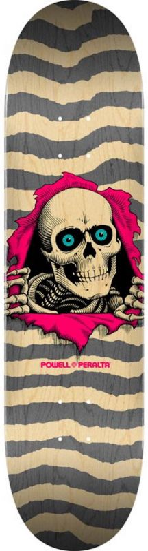 "POWELL PERALTA Ripper 8.25"" Popsicle Natural/Grey - Skateboard Komplett"