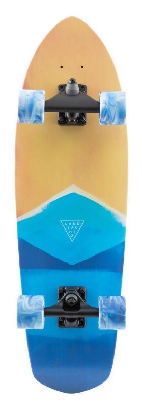 "LANDYACHTZ Pocket Knife Watercolor 29.6"" - Surfskate Komplett"