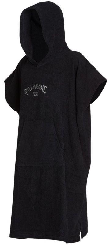 BILLABONG Hoodie Towel Black - Surf Poncho