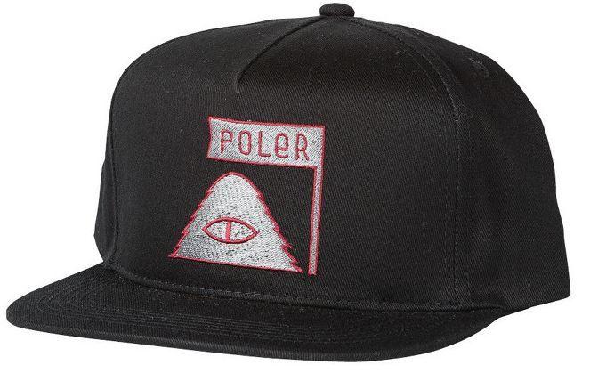 POLER Cyclops 2 Snapback Cap Black