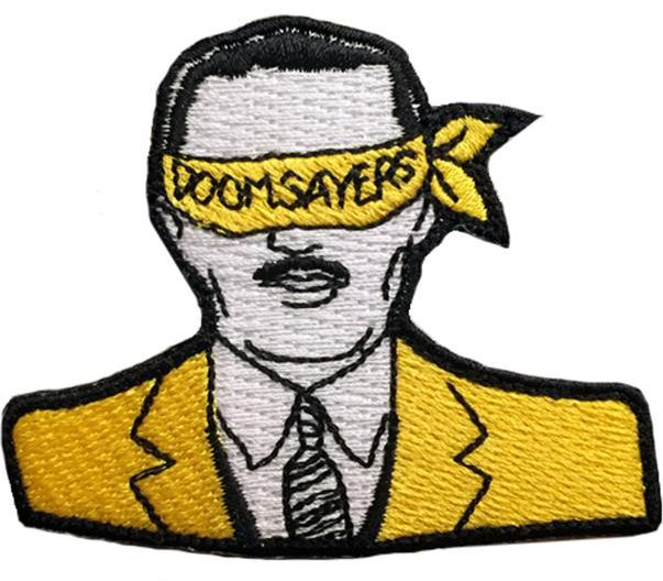 DOOMSAYERS Corp Guy Patch | Aufnäher