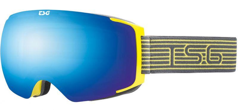 TSG Goggle Two Pole-Blue Chrome - Snowboardbrille