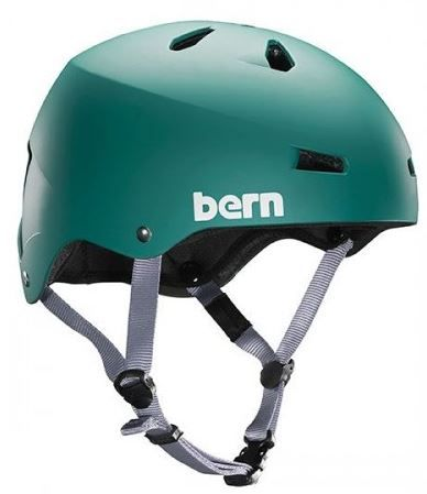BERN Macon Green fitted EPS Helm 2016