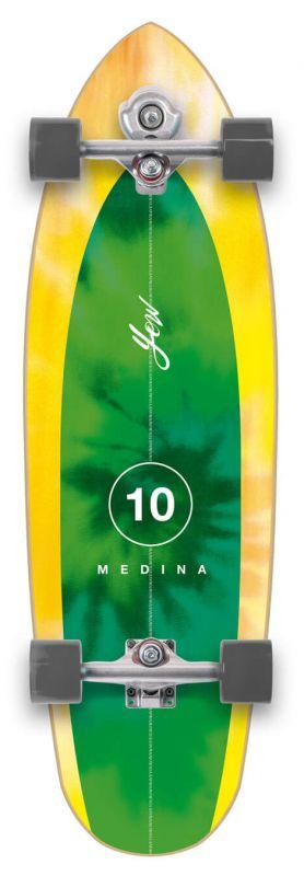 "YOW Medina Tie Dye 33""  Signature Series - Surfskate Komplett"