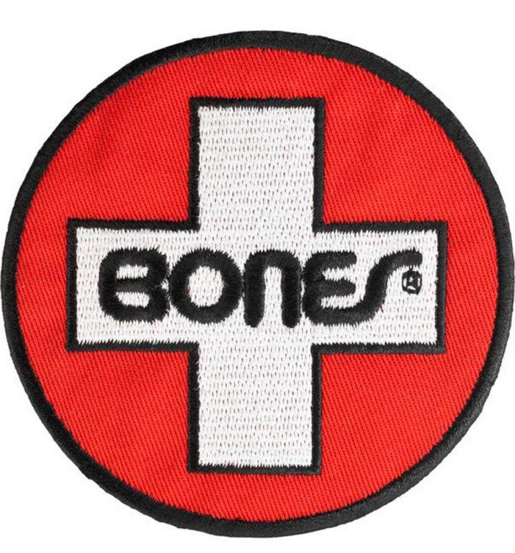 "BONES BEARINGS Swiss Circle 3"" Patch | Aufnäher"