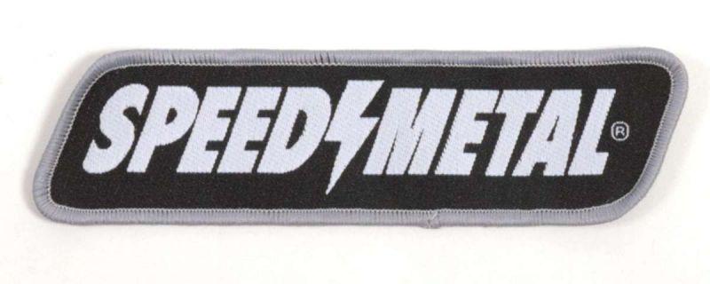 SPEED METAL Logo Patch Aufnäher