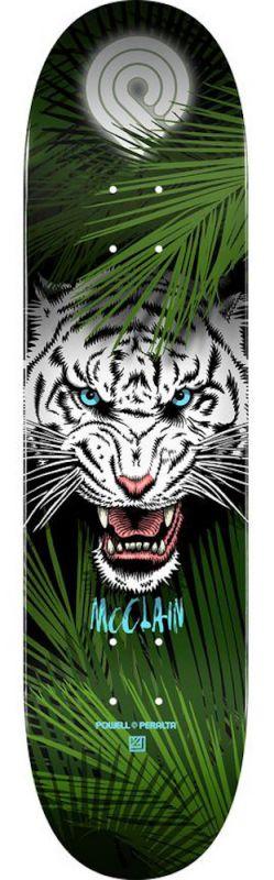 "POWELL PERALTA Brad McClain Tiger Popcsicle 8.25"" - Skateboard Deck"