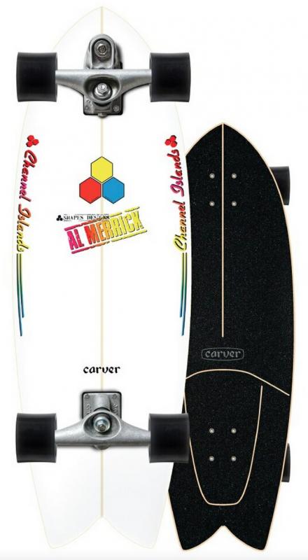 """CARVER CI Fishbeard 29,25"""" C7 - Surfskate Komplett"""