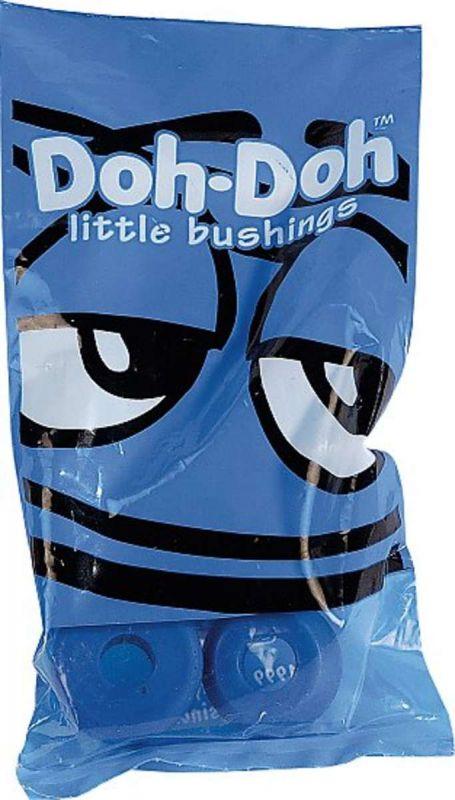 DOH-DOH Bushings Blue 88a Soft - Lenkgummis für 2 Skateboardachsen