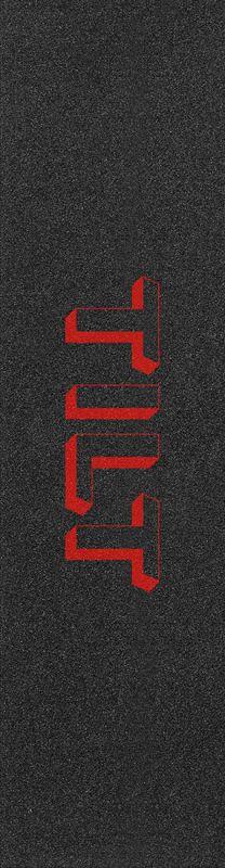 """TILT 3D Logo 6.5"""" Red - Stunt Scooter Griptape"""
