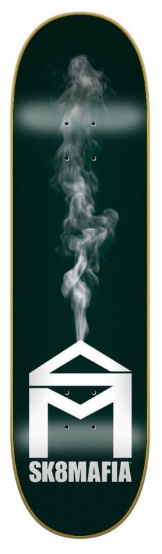 "SK8MAFIA House Logo Smoke 8.25"" - Skateboard Deck"