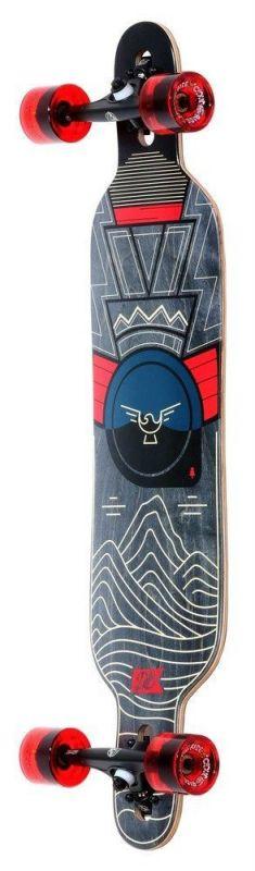 """DB LONGBOARDS Pioneer 38"""" Mountains - Longboard Komplett"""