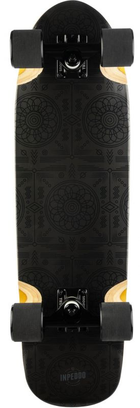 "INPEDDO Black Carpet 28.5"" - Minicruiser Komplett"