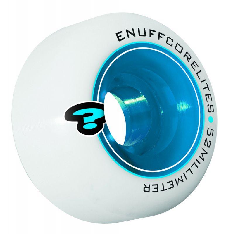 ENUFF Corelites Wheels 52mm 101a  Blue - Skateboardrollen